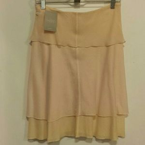 Anthropologie pink/peach skirt